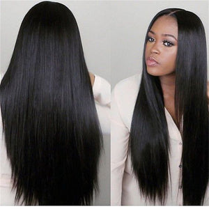 Promotion High Quality  Malaysian Virgin Hair  360 Lace Human Hair Wigs  Silky Straight Hair ZY-21