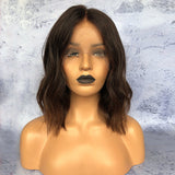 """King Cardi"" Ombre Lace Front Wig Textured Bob [HW023]"