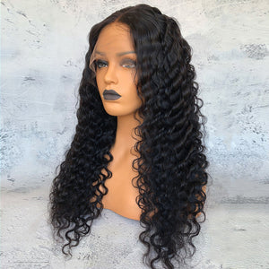 Full Lace Human Hair Wig Deep Body Wave [HW013]