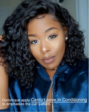This is Rihanna Wild Thoughts Style Curly Haircut Bob 13*4 Lace Front Wigs Brazilian Virgin  Hair.