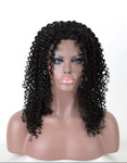 This is a Brazilian Virgin Human Hair Kinky Curl Affordable 13*4 Lace Front Wigs Best Quality .