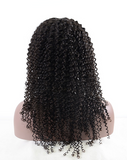 This picture shows the wigs Kinky Curly and the length.