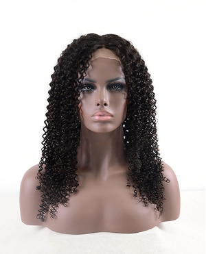 This picture is Natural Color Kinky Curl Indian Virgin Hair