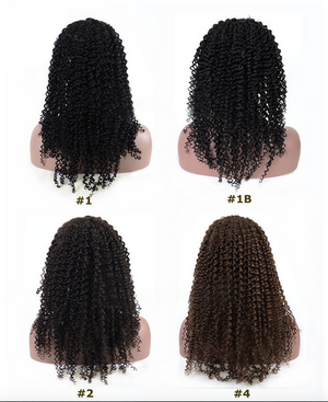 This style of wigs shows different colors.