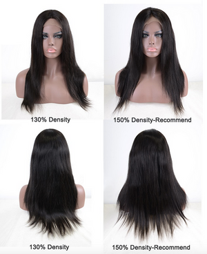 This is a picture of the different densities of the this  wig.