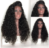 This is Baby Hair Deep Curly 13*6 Lace Front Human Hair Wigs.