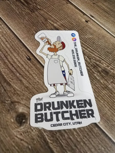 Character Sticker - The Drunken Butcher