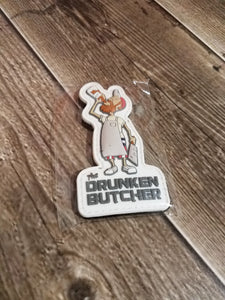 PVC Character Patch - The Drunken Butcher