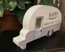 Personalized Happy Camper Wood Sign - Happy Camper Laser Engraved