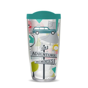 Covo Acrylic Tumbler - Road Trip - 16 Ounces
