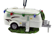 Airstream RV Christmas Ornament