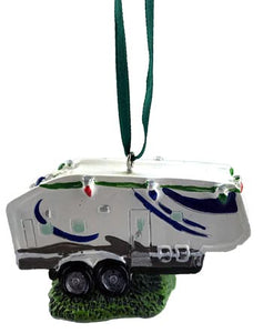 Fifth Wheel Trailer Christmas Ornament