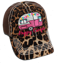 Happy Camper Cap Brown Leopard