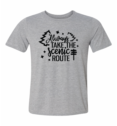 take the scenic route tshirt
