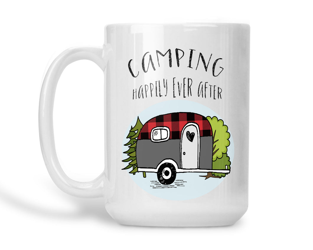 Coffee Mug Happily Ever After Camping
