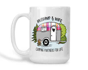 Coffee Mug Husband and Wife Camping
