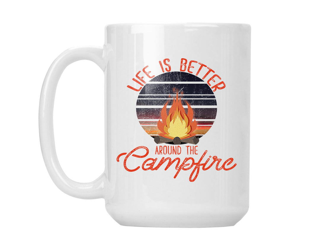 Camping Coffee Mug Better Around the Campfire
