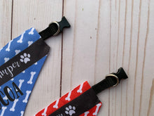 happy camper pet bandana collar