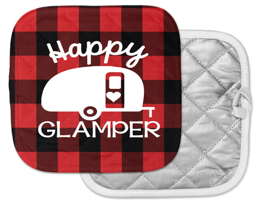 happy glamper pot holder camp kitchen