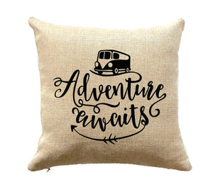 RV Decor Camper Decor Vintage Camper Pillow