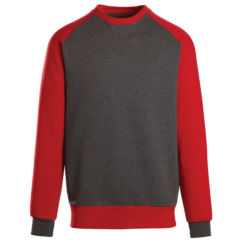 Adult Colorblock Crewneck