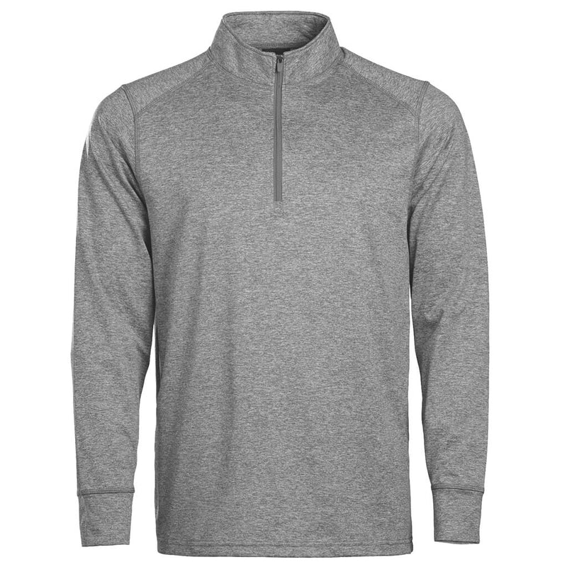 Men's 1/4 Zip Oxford Ash Grey Heather In Play Sportswear