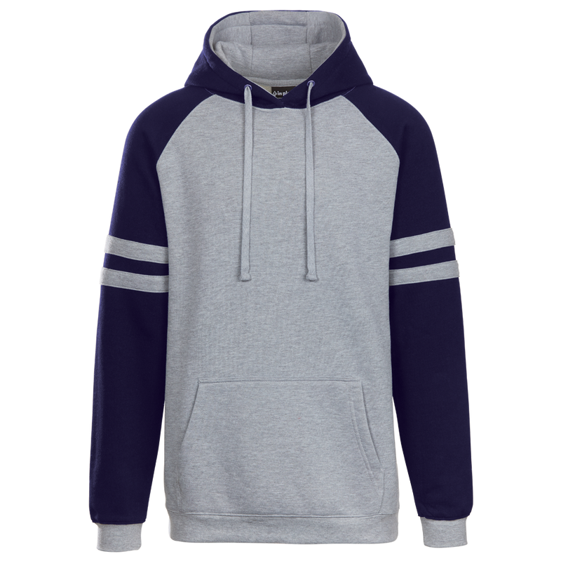 Adult Raglan Stripe Hood