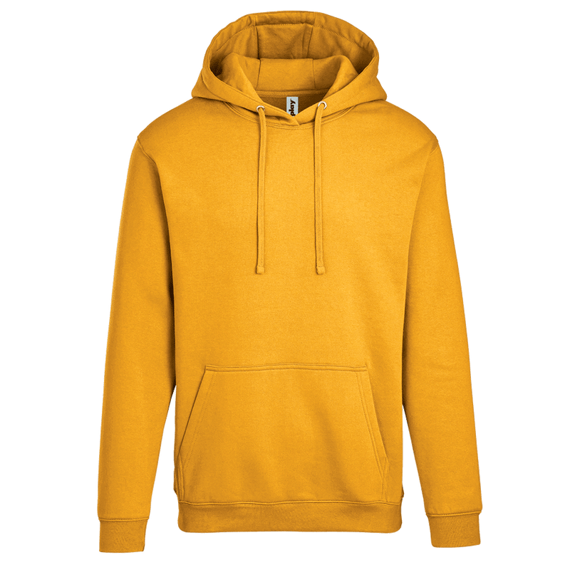 Adult Pullover Hood with Hidden Zipper Pocket in Gold