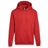 Adult Pullover Hood with Hidden Zipper Pocket in Red