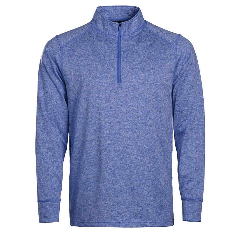 Youth 1/4 Zip Royal Heather In Play Sportswear