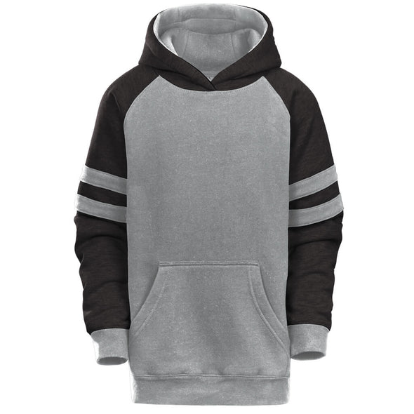 Youth Raglan Stripe Hood