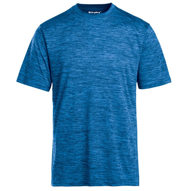 Youth Tonal Blend Short Sleeve T-Shirt In Play Sportswear Royal Blue
