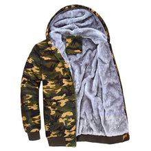 Camouflage hooded jacket - YOTC Clothing