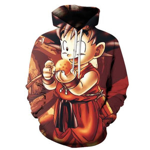 Goku hoody - YOTC Clothing