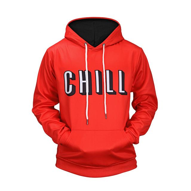 Flix and chill hoody - YOTC Clothing