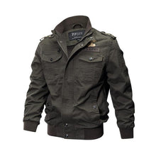 Larger size men military bomber jacket - YOTC Clothing