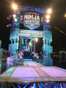 Jumptwist Ninja on American Ninja Warrior Season 10