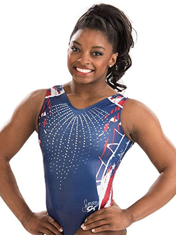 Red White and Blue Leotard