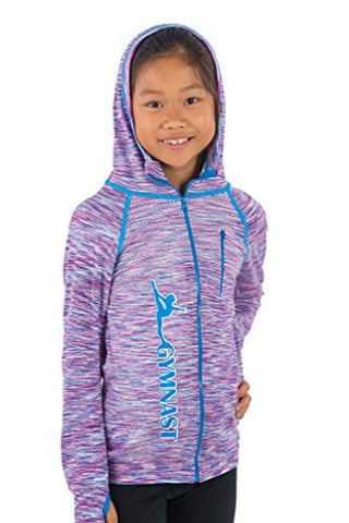 Gymnast Stretch Hoodie Gymnastics Jacket