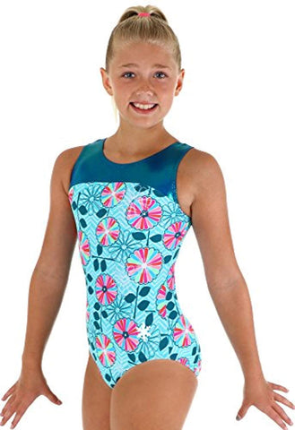 Rainbow Flower Leotard