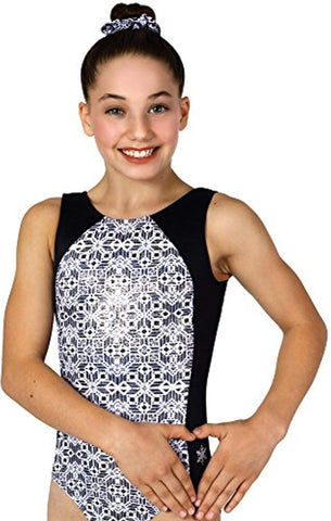 Black and White Design Leotard