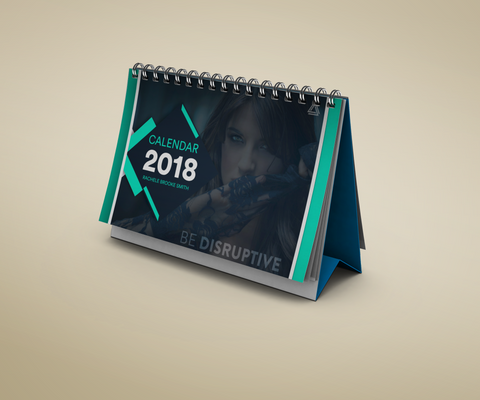 DISRUPT YOUR THOUGHTS 2018 Calendar (Personalized Option Available)