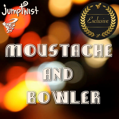 Moustache and Bowler