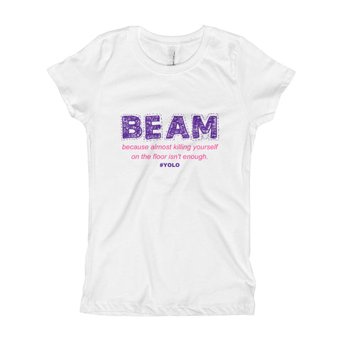 YOLO Beam | Team Jumptwist Girl's T-Shirt
