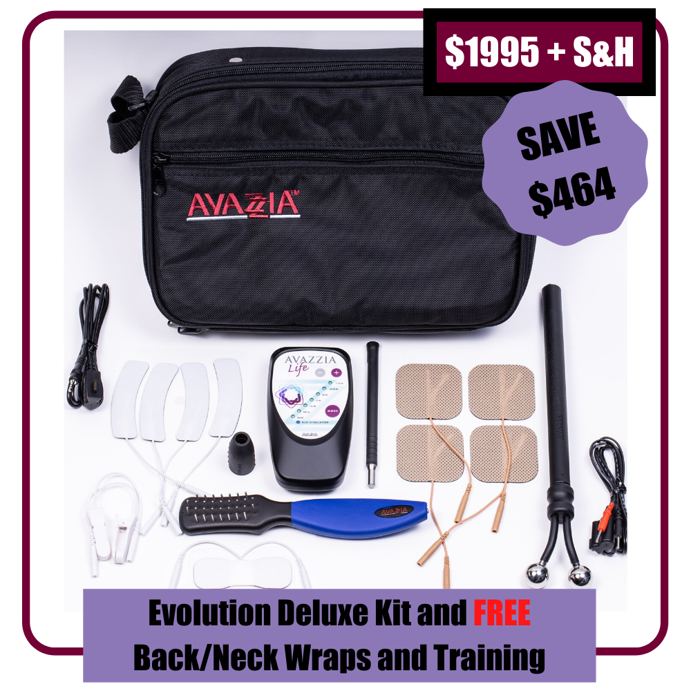 Avazzia Life Evolution (+ BONUS CONDUCTIVE WRAPS) - Webinar Deal