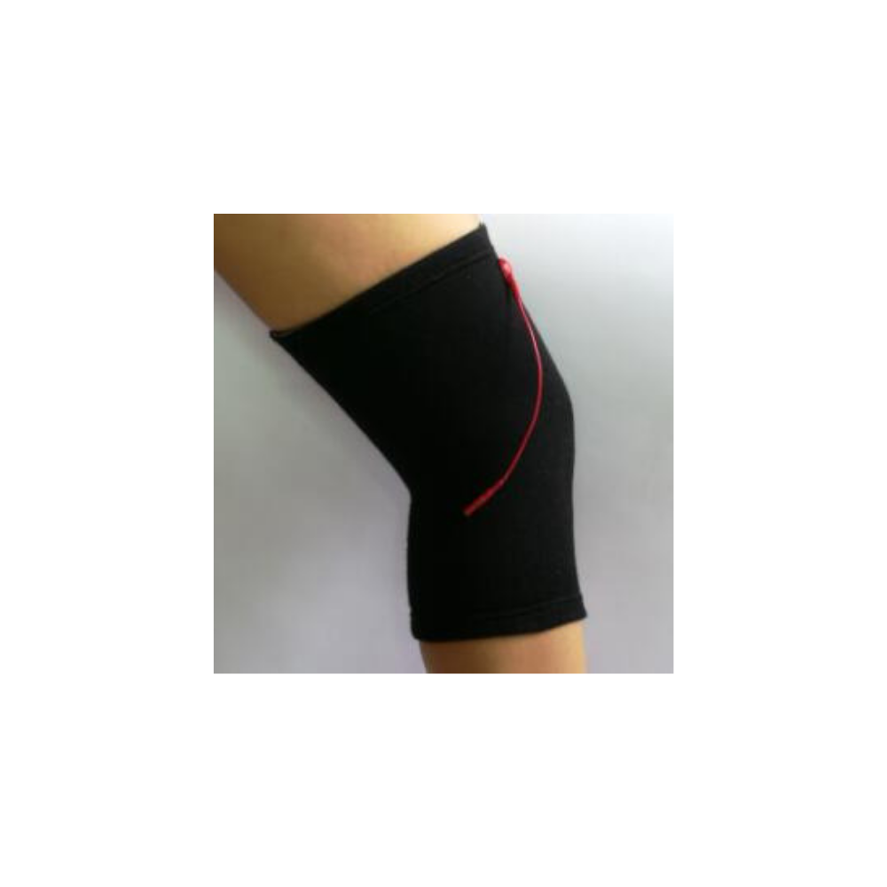 Conductive knee sleeve