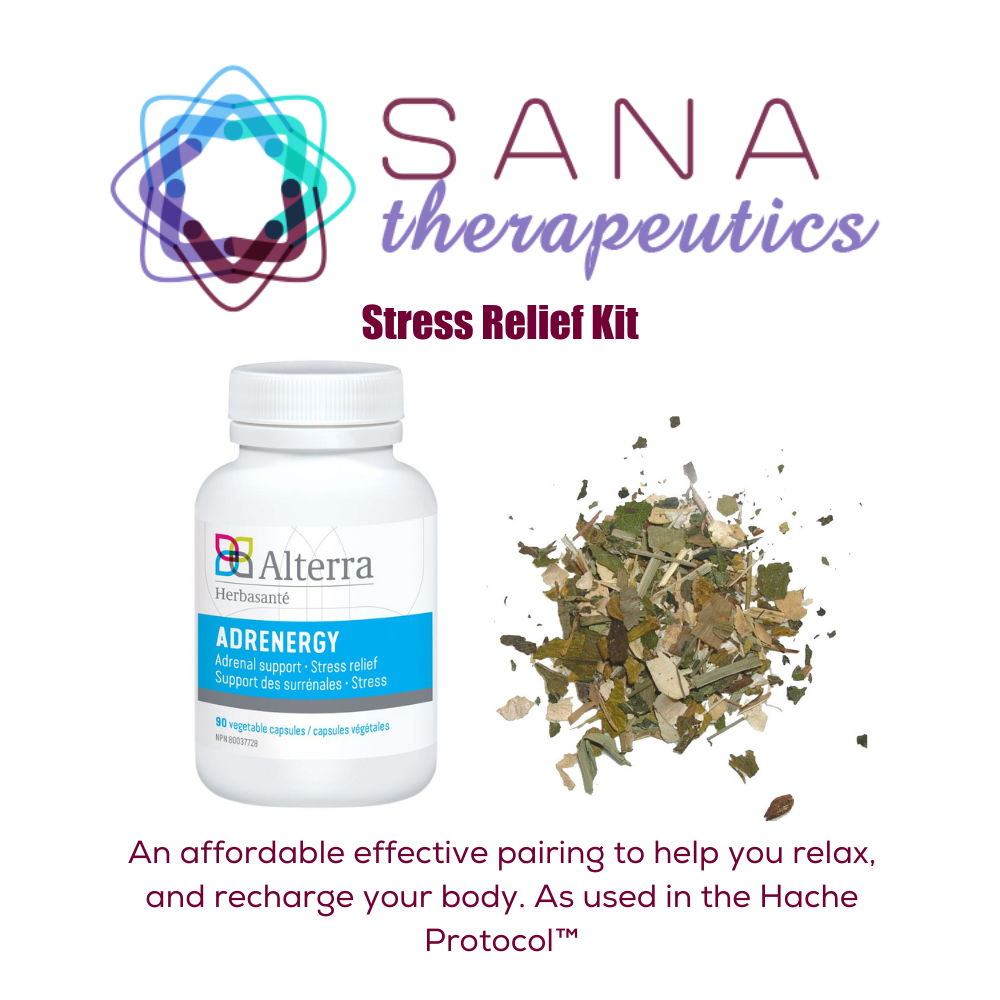 Sana Therapeutics Stress Relief Kit