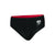 Boys Trooper Logo Placement Brief, Black/White/Risk Red