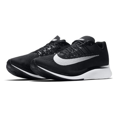 Men Zoom Fly Running Shoes, Black/White-Anthracite