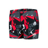 Boy Alliance Camo Allover Aquashorts, Camo Black/USA Charcoal